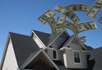 Pieniądze na dachu