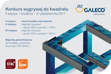 Wygrywaj do kwadratu - konkurs Galeco