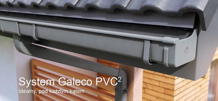 Galeco PVC2 - nowa, kwadratowa rynna Galeco